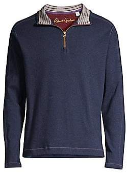 Robert Graham Men's Half-Zip Sweater