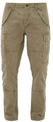 Polo Ralph Lauren Cotton Canvas Slim Fit Cargo Trousers - Mens - Khaki