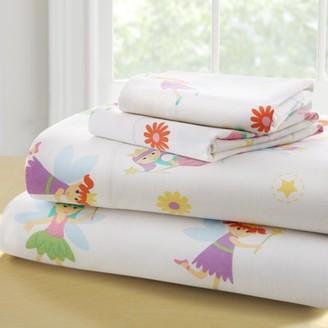 Olive Kids Wildkin Fairy Princess 100% Cotton Sheet Set - Twin
