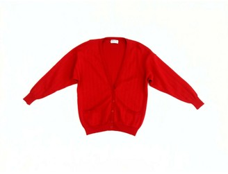 Jaeger Red Wool Knitwear for Women Vintage