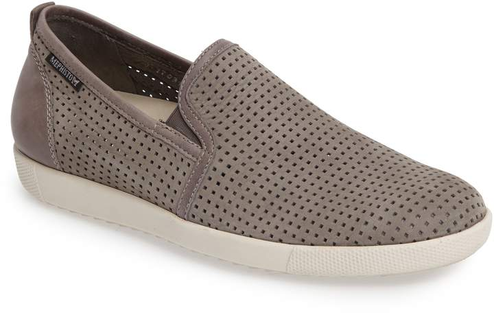 Mephisto 'Ulrich' Perforated Leather Slip-On