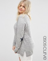 Asos Sweater with Star Elbow Patch