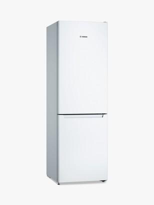 Bosch Serie 2 KGN36NWEAG Freestanding 60/40 Fridge Freezer, A++ Energy Rating, 60cm Wide, White