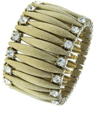 Fashion Bella Crystal Lined Marquise-Bracelet
