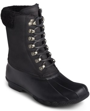 Sperry Saltwater Lace-Up Boots Women's Shoes