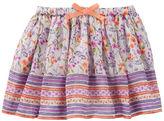 Osh Kosh Printed Crinkle Chiffon Skirt