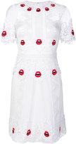 Temperley London Leaf mini dress