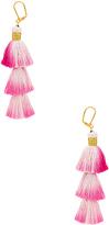 Shashi Sia Earring in Pink.