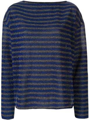Rachel Comey striped lurex longsleeved T-shirt