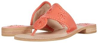 Jack Rogers Jacks Flat Sandal (Mint) Women's Sandals