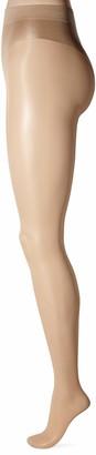 Secret Silky Women's Sheer Lux High Cut Bikini Pantyhose 1 Pair