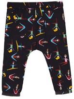 Margherita Toddler Girl's Stretching Print Harem Pants