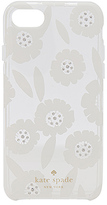 Kate Spade Jeweled Majorelle iPhone 7 Case in White.