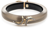Alexis Bittar Mirrored Feather Hinge Bracelet