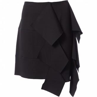Maison Rabih Kayrouz Black Viscose Skirts