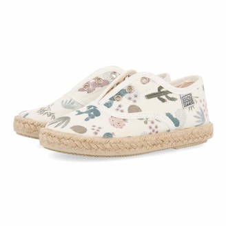 GIOSEPPO Girls Palavas Slip On Trainers White (Off-White Off-White) 11 UK