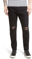 Zanerobe Men's Joe Blow Destroyed Denim Jeans