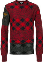 Lanvin argyle sweater