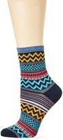 Burlington Women's Aztec Fair Isle Calf Socks