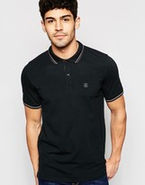 Selected Polo Shirt With Tipped Collar