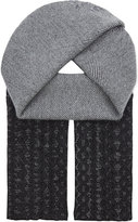 Pringle Patterned Wool & Cashmere Scarf