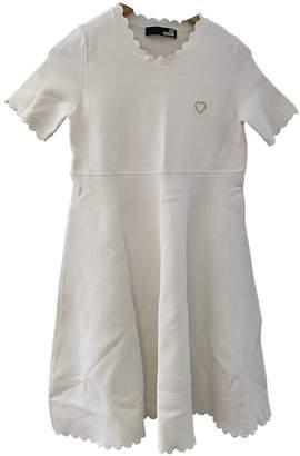 Moschino White Cotton Dresses