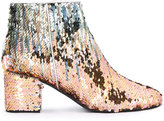 Pollini sequin ankle boots