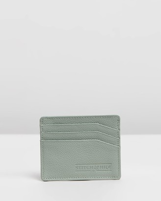 Stitch & Hide - Women's Green Card Holders - Alice Cardholder - Size One Size at The Iconic