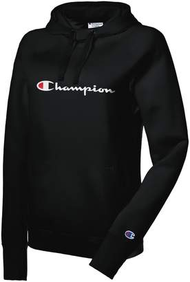 Champion Powerblend Drawstring Logo Hoodie