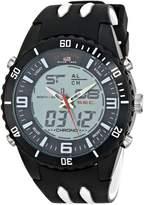 U.S. Polo Assn. Sport Men's US9477 Analog-Digital Display Analog Quartz Black Watch