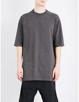 Rick Owens Crewneck Cotton-jersey T-shirt