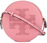 Tory Burch perforated logo crossbody bag - women - Leather - One Size