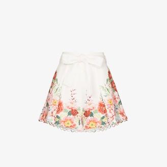 Zimmermann Bellitude floral shorts
