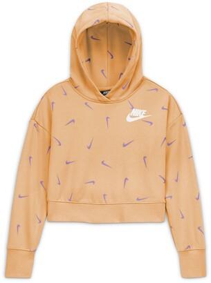 Nike Kids' Sportswear Print Hoodie