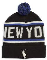 Polo Ralph Lauren Ribbed Flagship New York Beanie