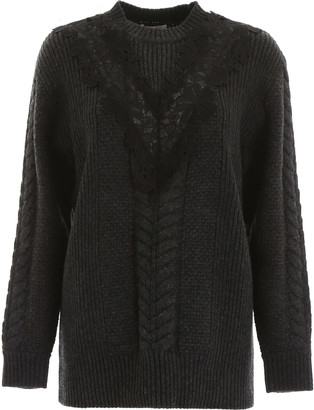 See by Chloe Pullover With Lace