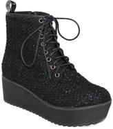 C Label Black Nata Platform Boot