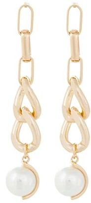 8 Other Reasons Over and Out Earrings (Gold) Earring