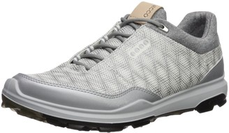 Ecco Mens Biom Hybrid 3 Gtx Mens Golf Shoes White/Silver Metallic 9.5 UK (43 EU)