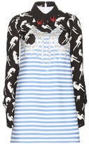 Miu Miu Embellished printed dress