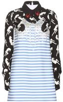 Miu Miu Embellished printed dress