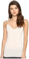 Hanro Cotton Seamless V-Neck Camisole Women's Underwear