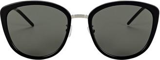 Saint Laurent Soft Cat Eye Sunglasses