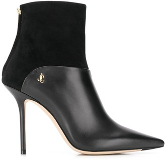 Jimmy Choo Beyla 100 pointed toe boots