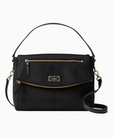 Kate Spade Black Lyndon Blake Avenue Hobo
