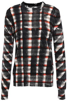 Proenza Schouler Striped Tie-dyed Cotton Top