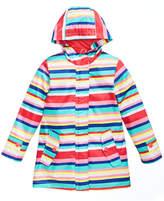 Carter's Striped Hooded Rain Jacket, Toddler Girls