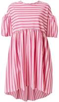 Henrik Vibskov striped dress with puff sleeves