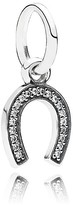 Pandora Pendant - Sterling Silver & Cubic Zirconia Symbol of Luck, Moments Collection