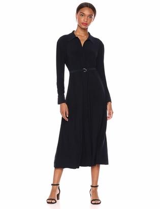 Norma Kamali Women's NK Shirt A LINE Midcalf Dress